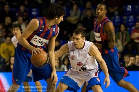 Liga ACB. BarÁa vr Xacobeo Blu Sens
