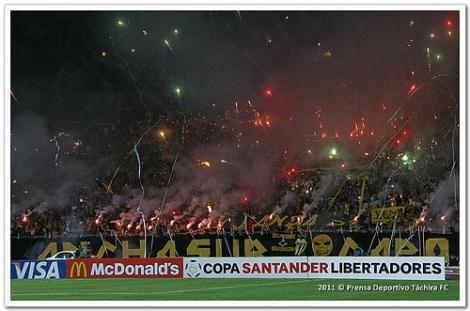 Deportivo Tachira FC Vs Santos FC